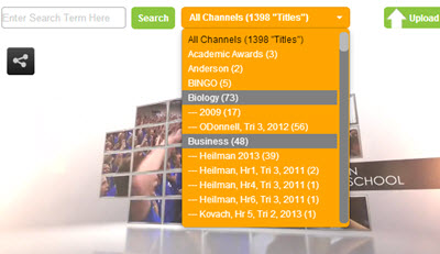 Eduvision supports as many video channels as you want